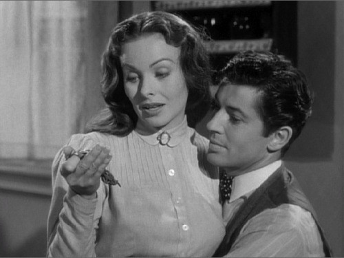 Jeanne Crain and Farley Granger were major movie crushes.