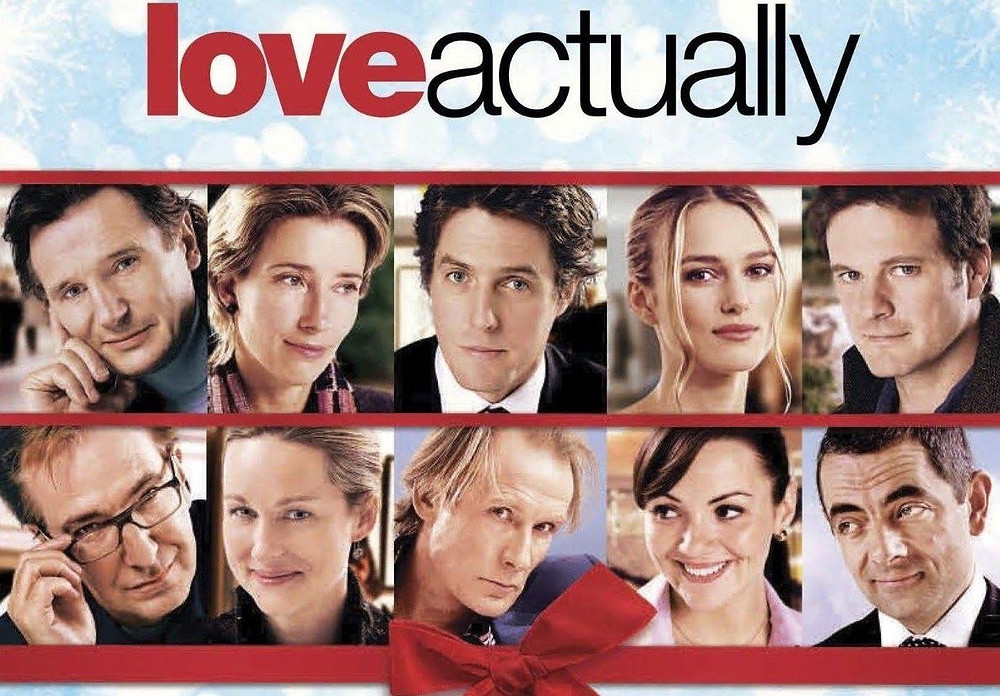 "The all-star cast of ""Love Actually"""