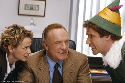 Amy Sedaris, James Caan, and Will Ferrell getting to know one another.