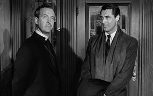 David Niven is visited by an angel (Cary Grant) that doesn't seem too angelic!