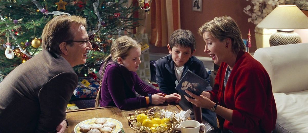Alan Rickman and Emma Thompson, at a Christmas that won't remain very merry