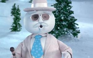 "Leon Redbone as the jaunty, jazzy snowman in ""Elf"""