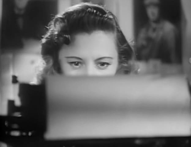 Barbara Stanwyck as Ann, who dreams up John Doe