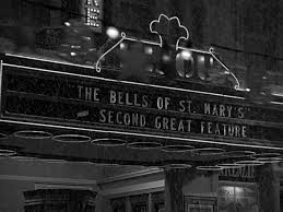 "Marquee of the moviehouse in ""It's a Wonderful Life."""