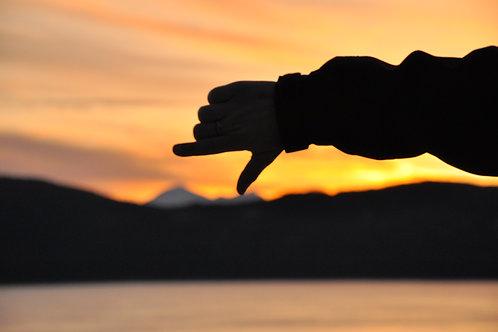 Alaskan Sunset - Canvas/Prints