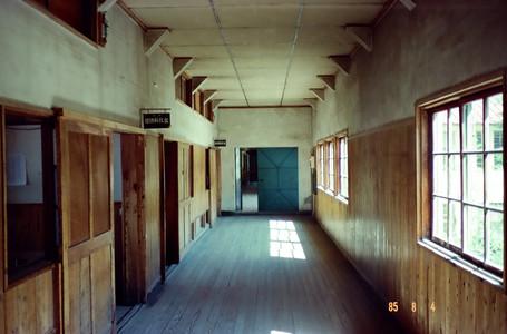 国語教室前の廊下