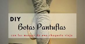 DIY❄️Botas Pantuflas
