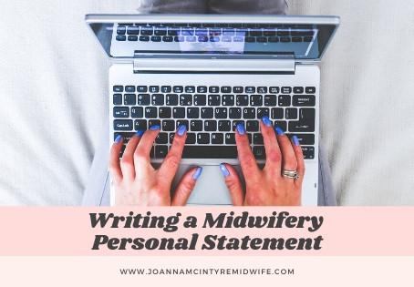 Writing a Midwifery Personal Statement
