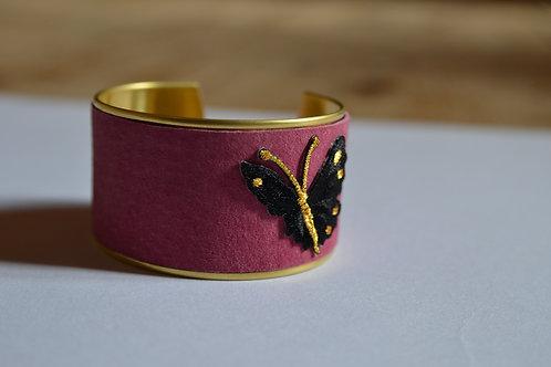 Manchette Papillon noir
