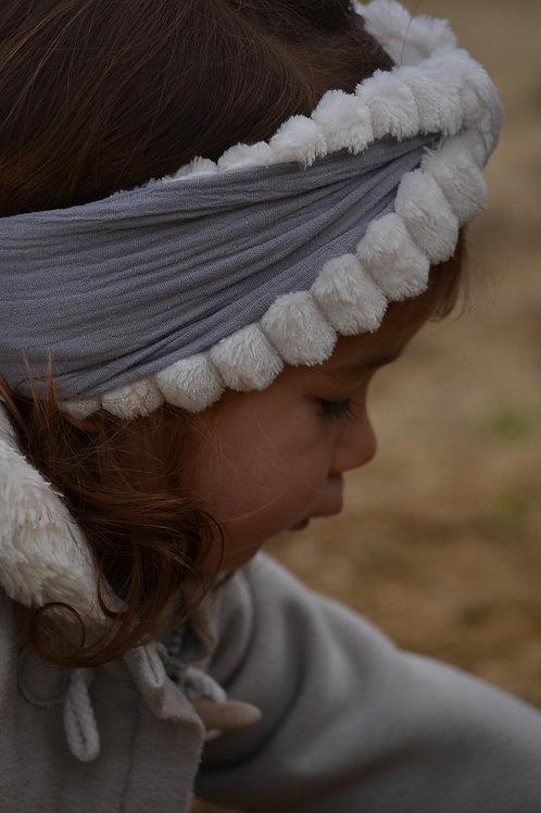 headband fille hiver