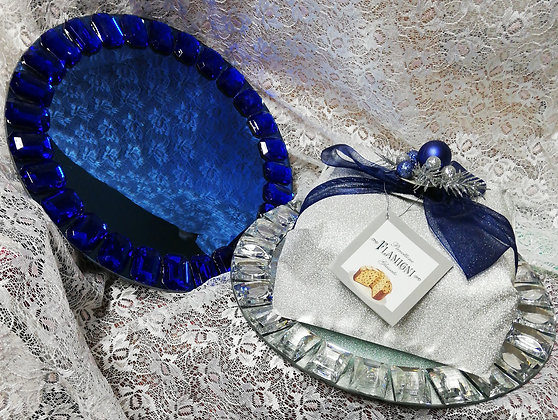 Vassoio Luxory con Panettone Glassato