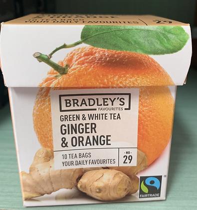 Bradley's Te limone e zenzero