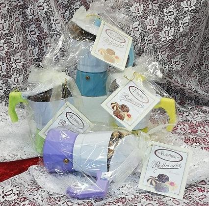 Le Caffettiere con 90g di Pasticceria da Tè
