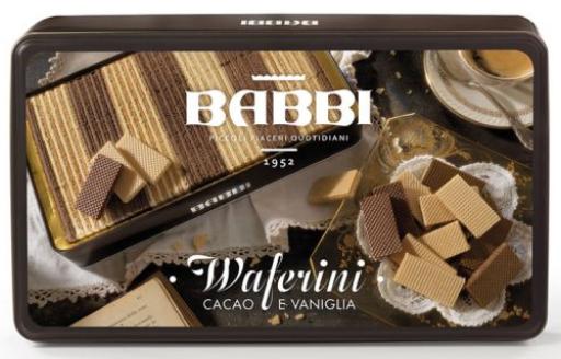Waferini Cacao e Vaniglia