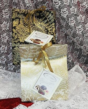 Sacchetti con nastro Elegance con 200g di pasticceria da Tè