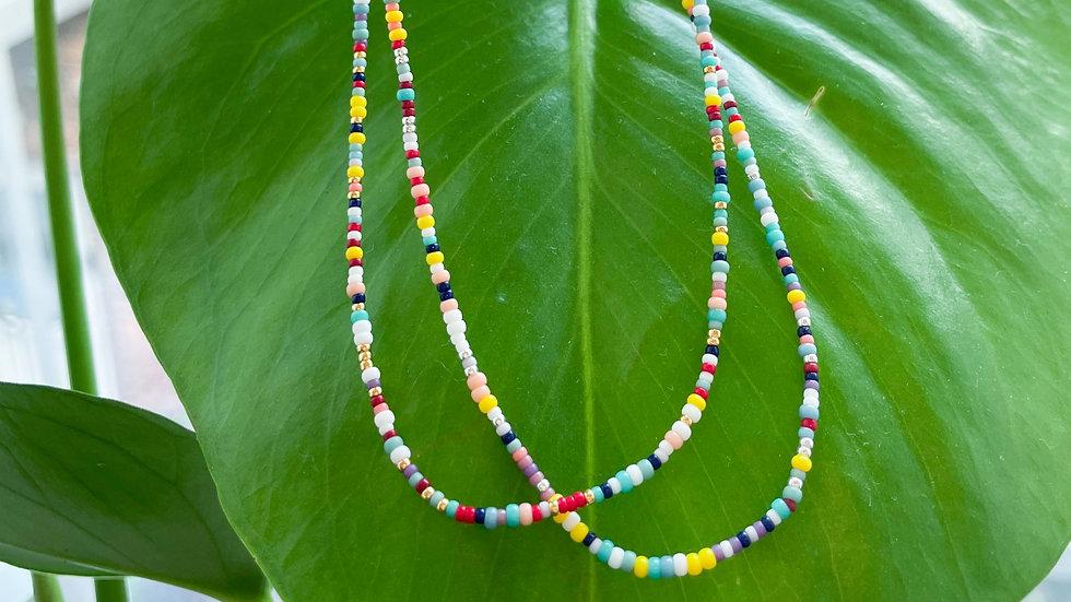 The Teeny Rainbow Necklace   Ready to Ship