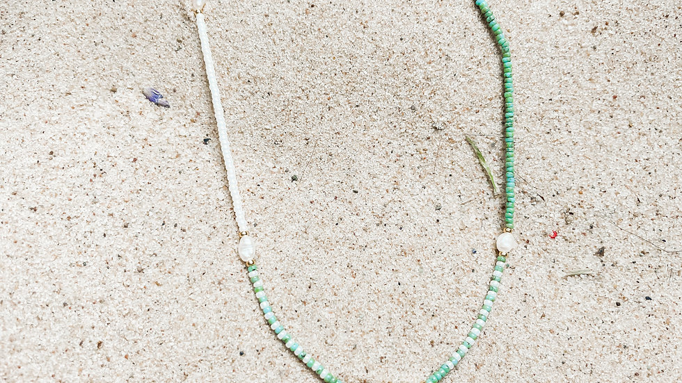 The Scatter Pearl Necklace