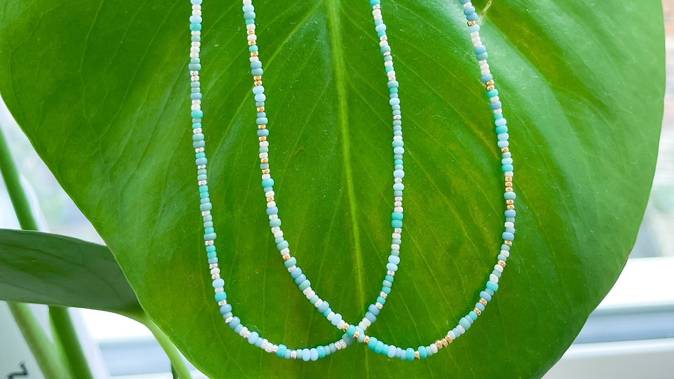 The Teeny Ocean Necklace