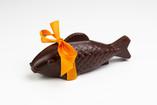 Le poisson rouge en chocolat (lait ou noir)