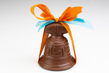 La cloche en chocolat (lait ou noir)