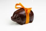Le cochon en chocolat (lait ou noir)