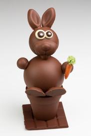 Le lapin création limitée au chocolat au lait