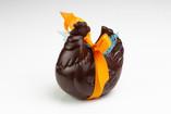 La poule en chocolat (lait ou noir)