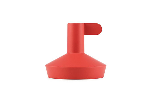 Flag Candle Holder Red