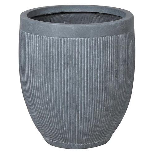 Grey Dolly Tub Planter