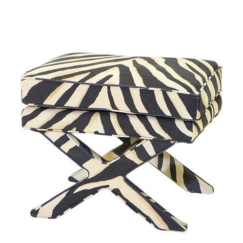 OTTOMAN CORDOBA - Zebra print