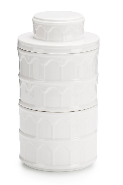 3 tier storage jars