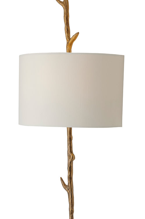 Brass Wall Lamp Left