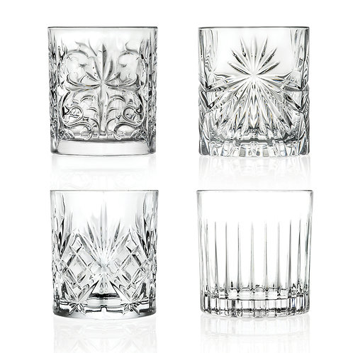 MIXOLOGY SET - set of 4