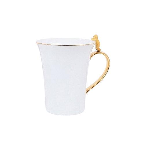 Mug with Yellow Cat Detail