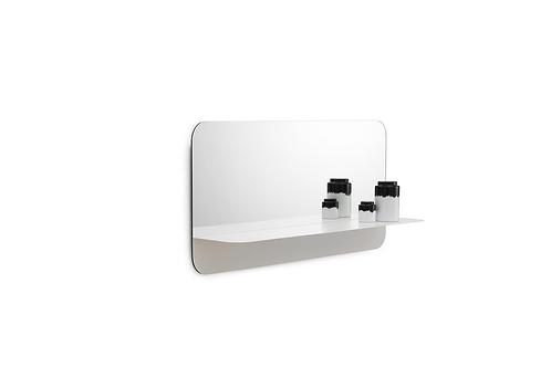 Horizon Mirror Horizontal White