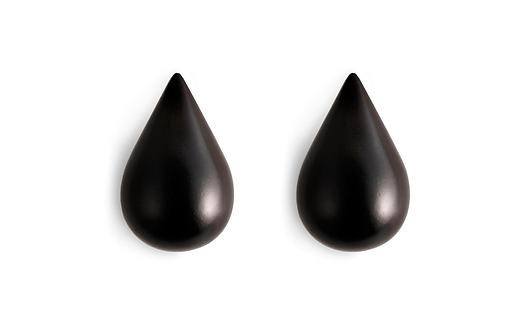 Dropit Hooks Small - 2 pcs Black