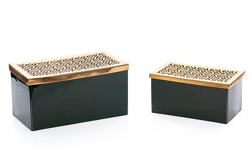 SET 2 METAL BOXES