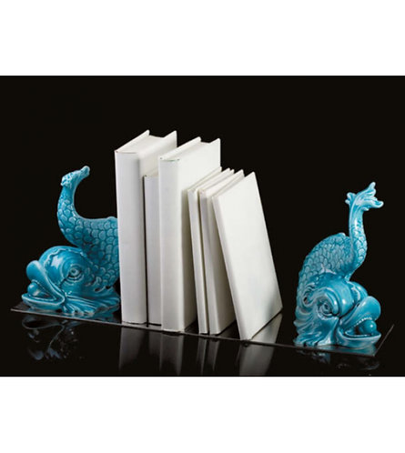 DOLPHIN BOOK-ENDS