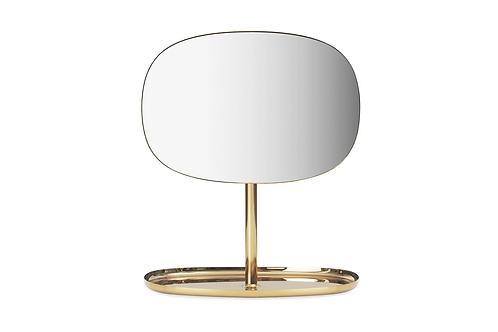 Flip Mirror Brass