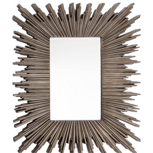 Silver Leaf Finish Mirror