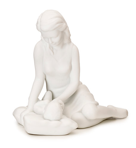 PORCELAIN MOTHER AND CHILD