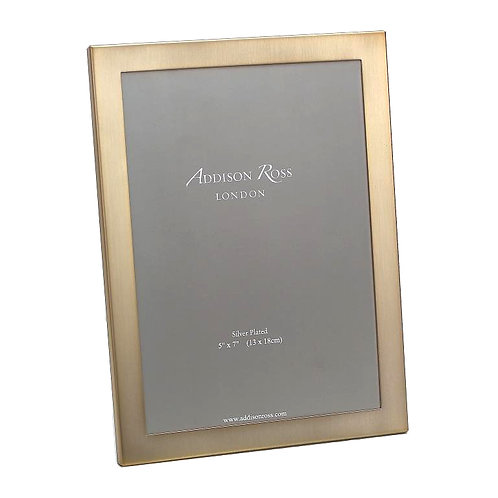 MATTE GOLD FRAME WITH SQUARED CORNERS (8X10IN)