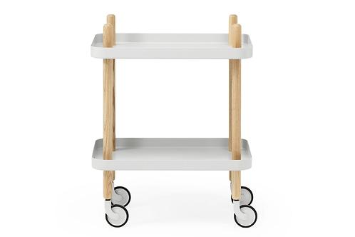 Block Table Light Grey