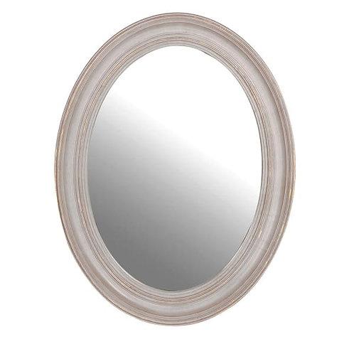 Medium Oval Mirror Sand
