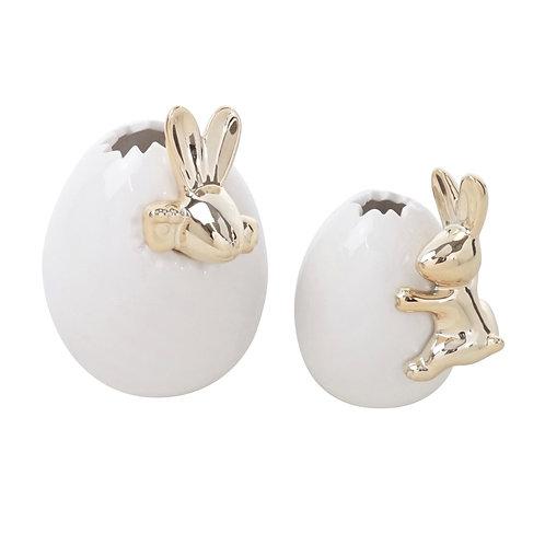 Set of 2 Egg Vase