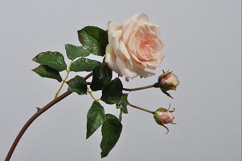 ROSE SPRAY PINK LT 55 cm