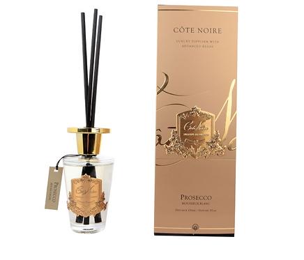 COTE NOIRE 150ML DIFFUSER SET - PROSECCO - GOLD