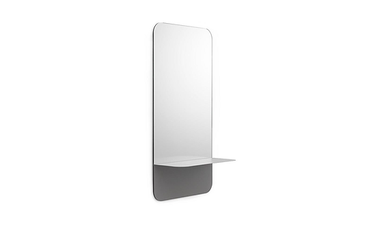 Horizon Mirror Vertical Grey