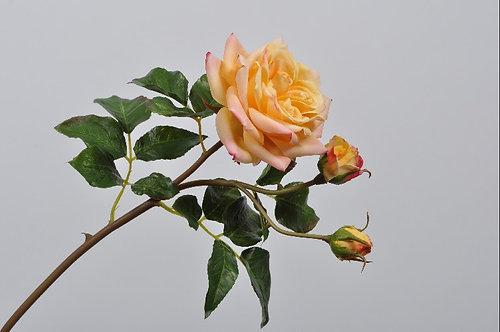 ROSE SPRAY YLL/ORG 55 cm