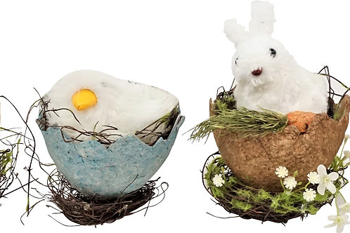 EASTER ANIMALS S/4